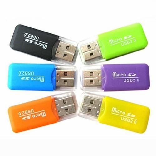 Đầu đọc thẻ nhớ MicroSD mini tiện dụng - nhiều màu - 9138569 , 18847718 , 15_18847718 , 30000 , Dau-doc-the-nho-MicroSD-mini-tien-dung-nhieu-mau-15_18847718 , sendo.vn , Đầu đọc thẻ nhớ MicroSD mini tiện dụng - nhiều màu