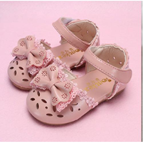 Sandal bé gái gắn nơ cực xinh