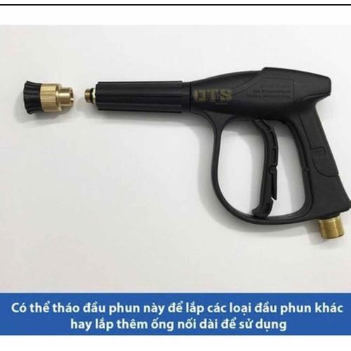 súng rửa xe sịn ren to