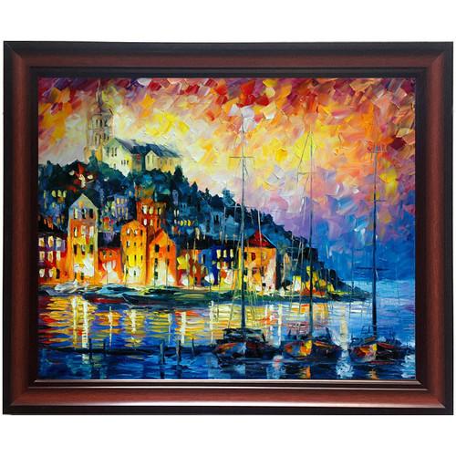 Tranh in trên chất liệu vải Canvas cao cấp kèm khung KT 48x68cm