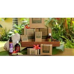 Bộ quà tặng gồm 10 sản phẩm organic chăm sóc mẹ sau sinh Tanamera