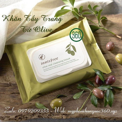Khăn Giấy Tẩy Trang Từ Olive Innisfree. Olive Real Cleansing Tissue 30 tờ - 9142047 , 18851499 , 15_18851499 , 200000 , Khan-Giay-Tay-Trang-Tu-Olive-Innisfree.-Olive-Real-Cleansing-Tissue-30-to-15_18851499 , sendo.vn , Khăn Giấy Tẩy Trang Từ Olive Innisfree. Olive Real Cleansing Tissue 30 tờ