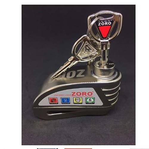 Khóa ĐĨA Zoro Hú còi báo động chống trộm ZORO - 9135652 , 18844552 , 15_18844552 , 350000 , Khoa-DIA-Zoro-Hu-coi-bao-dong-chong-trom-ZORO-15_18844552 , sendo.vn , Khóa ĐĨA Zoro Hú còi báo động chống trộm ZORO