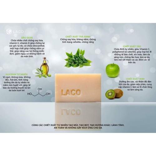 Xà bông tắm organic Laco