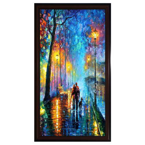 Tranh in trên chất liệu vải Canvas cao cấp kèm khung KT 60x86cm