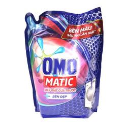 Nước giặt Ômô Matic 2,3kg cửa ngang giữ màu