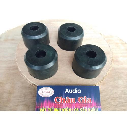 Chân đế cao su loa cao 3 cm- 4 cái- Audio Châu Gia