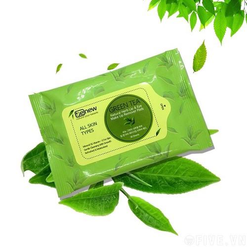 Gói bông tẩy trang BENEW trà xanh 30 miếng