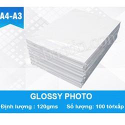 GIẤY ẢNH GLOSSY PHOTO A4 120G