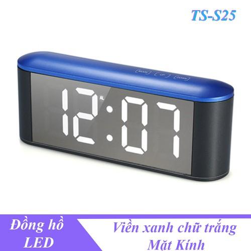Đồng hồ LED để bàn hiển thị nhiệt độ, độ ẩm cáo báo thức TS-S25 - Viền xanh chữ trắng - 9134422 , 18843234 , 15_18843234 , 450000 , Dong-ho-LED-de-ban-hien-thi-nhiet-do-do-am-cao-bao-thuc-TS-S25-Vien-xanh-chu-trang-15_18843234 , sendo.vn , Đồng hồ LED để bàn hiển thị nhiệt độ, độ ẩm cáo báo thức TS-S25 - Viền xanh chữ trắng