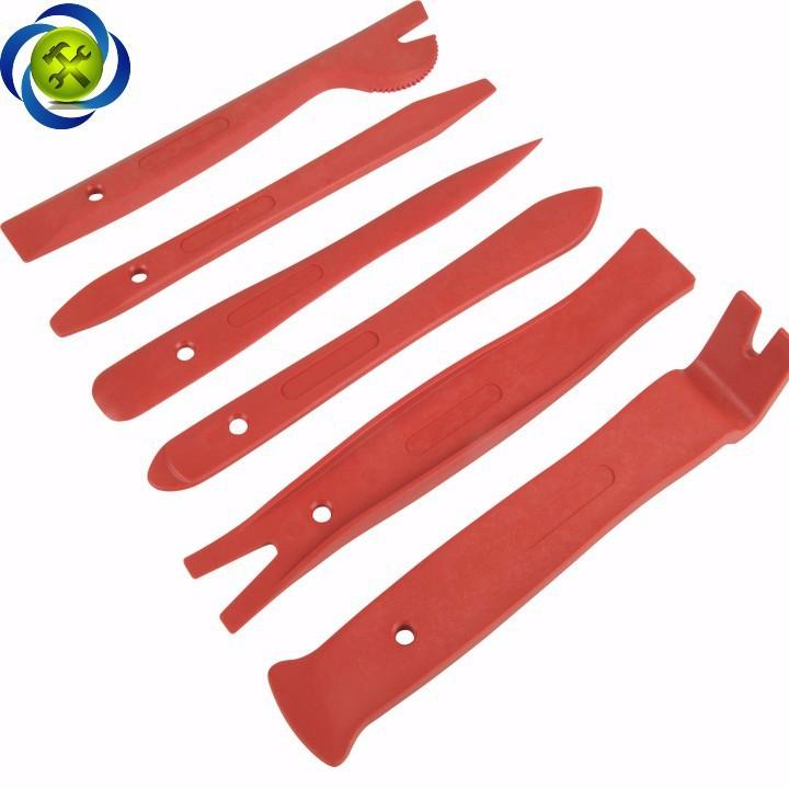 Bộ nạy đồ nhựa HC-2141 có 6 chi tiết màu đỏ 3