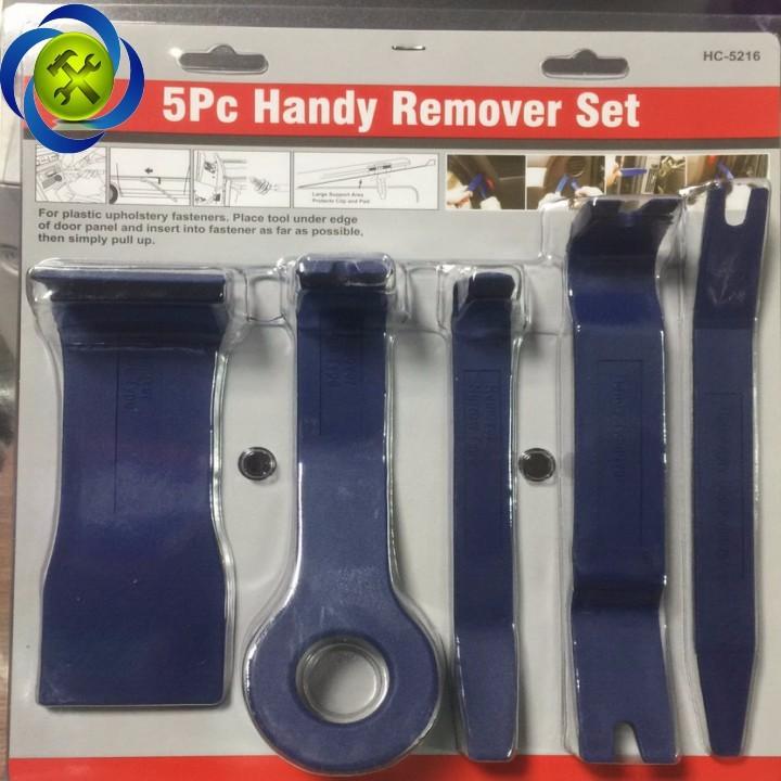 Bộ nạy đồ nhựa HC-5216 có 5 chi tiết màu xanh 1