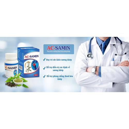 AC- SAMIN - hỗ trợ xương khớp