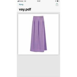 váy chống nắng xxl