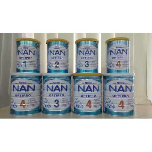 Sữa Nan Optipro 1,2,3,4