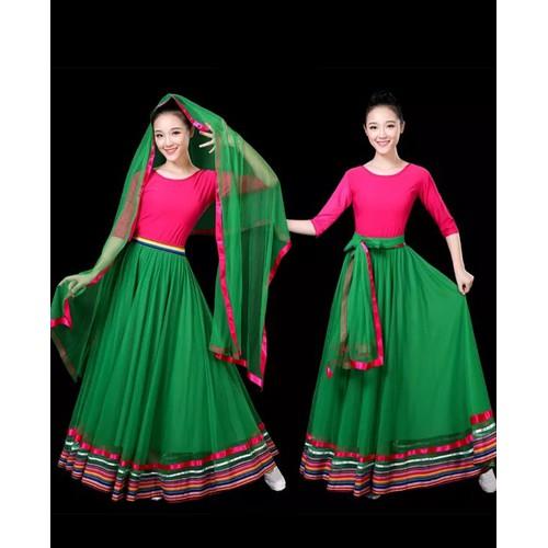 Váy Múa Mông Cổ - Trang Phục Múa Mông Cổ