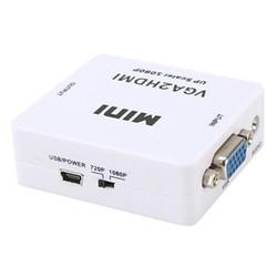 Hộp Box VGA to HDMI