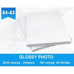 GIẤY ẢNH GLOSSY PHOTO A4 240G