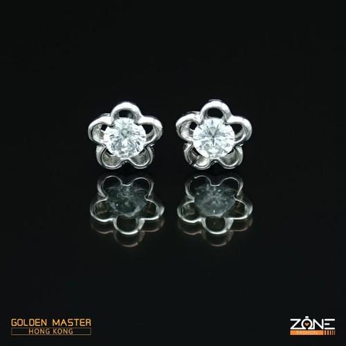 Bông tai bạc 925 nữ cao cấp hoa 5 cánh GOLDEN MASTER - 9138950 , 18848140 , 15_18848140 , 298000 , Bong-tai-bac-925-nu-cao-cap-hoa-5-canh-GOLDEN-MASTER-15_18848140 , sendo.vn , Bông tai bạc 925 nữ cao cấp hoa 5 cánh GOLDEN MASTER