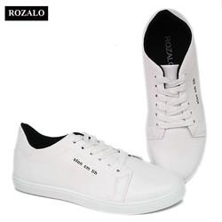 Giày sneaker thời trang nam dây buộc Rozalo RM5638-Nhiều màu