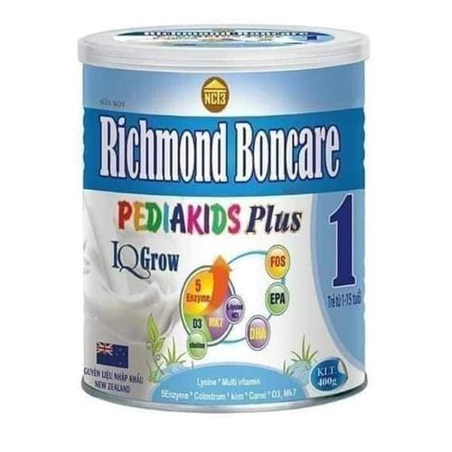 Sữa bột Richmond Boncare PediaKids Plus IQ Grow từ 01 đến 15 tuổi NCT3 - 8410013 , 17838126 , 15_17838126 , 499000 , Sua-bot-Richmond-Boncare-PediaKids-Plus-IQ-Grow-tu-01-den-15-tuoi-NCT3-15_17838126 , sendo.vn , Sữa bột Richmond Boncare PediaKids Plus IQ Grow từ 01 đến 15 tuổi NCT3