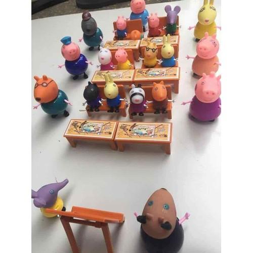 đồ chơi lớp học peppa pig
