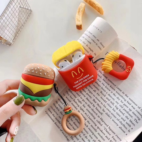 Case Airpod Mcdonal Popcorn Hamburger - PK084