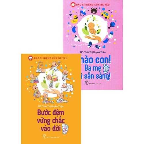 combo 2 cuốn chào con ba mẹ đã sẵn sàng, bước đệm vững chắc vào đời cho con