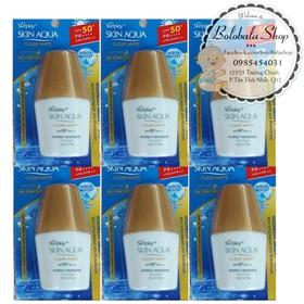 Sữa chống nắng Sunplay Skin Aqua 5g SPF50+ PA++++ - COMBO6-KEMCHONGNANG-SKINAQUA5G
