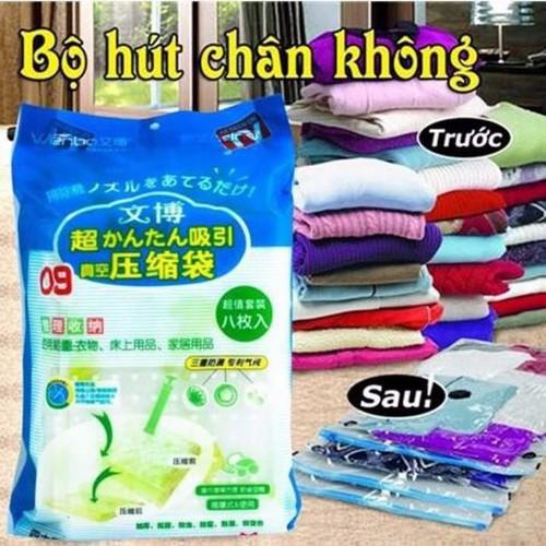 Bộ 8 túi hút chân không kèm bơm - Túi đựng quần áo chăn màn - 8415620 , 17839968 , 15_17839968 , 250000 , Bo-8-tui-hut-chan-khong-kem-bom-Tui-dung-quan-ao-chan-man-15_17839968 , sendo.vn , Bộ 8 túi hút chân không kèm bơm - Túi đựng quần áo chăn màn