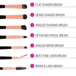 Bộ Cọ Trang Điểm Bh Cosmetics Signature Rose Gold 13 Piece Brush Set - BH14 thumbnail