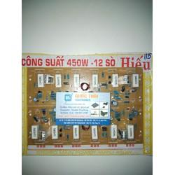 BOARD CÔNG SUẤT HIẾU 450W - 12 SÒ - 2 KÊNH