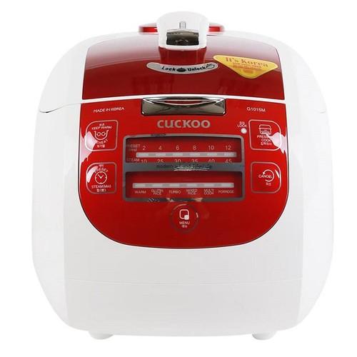 Nồi cơm áp suất điện tử Cuckoo CRP-G1015M 1.8L Hàn Quốc màu Đỏ
