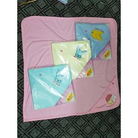 Chăn ủ cotton có mũ cho bé sơ sinh - CHANUHETHU