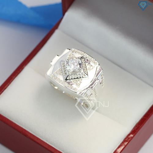 Nhẫn bạc nam, nhẫn nam bạc bản to đính đá tinh tế sang trọng NNA0100 - 7717104 , 17851658 , 15_17851658 , 650000 , Nhan-bac-nam-nhan-nam-bac-ban-to-dinh-da-tinh-te-sang-trong-NNA0100-15_17851658 , sendo.vn , Nhẫn bạc nam, nhẫn nam bạc bản to đính đá tinh tế sang trọng NNA0100
