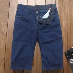Quần short jeans nam xanh đen TS111