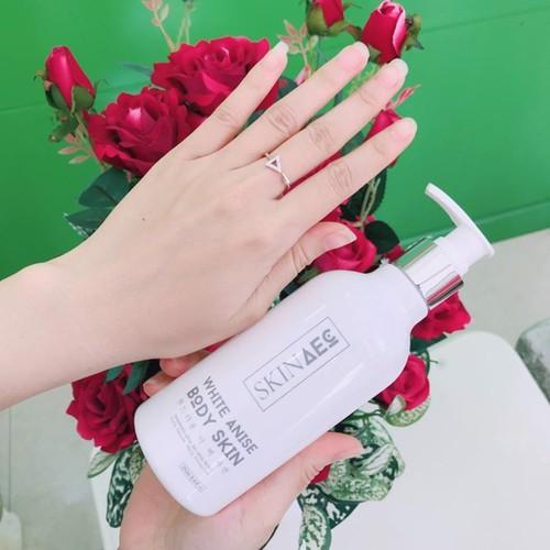 Sữa Tắm Trắng Than Hoạt Tính  White Anise Body Skin AEC - Cam Kết Chính Hãng