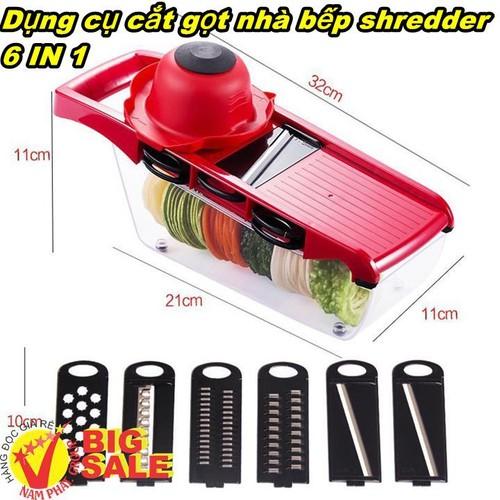 Dụng cụ cắt gọt nhà bếp shredder 6TRONG 1 - 4749511 , 17840116 , 15_17840116 , 186000 , Dung-cu-cat-got-nha-bep-shredder-6TRONG-1-15_17840116 , sendo.vn , Dụng cụ cắt gọt nhà bếp shredder 6TRONG 1
