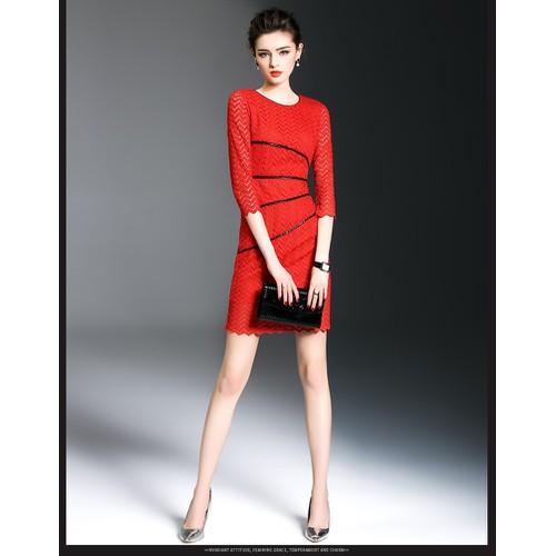 Đầm ren body phối viền sọc - Hàng Nhập -GT587 màu đỏ - 8408524 , 17837553 , 15_17837553 , 700000 , Dam-ren-body-phoi-vien-soc-Hang-Nhap-GT587-mau-do-15_17837553 , sendo.vn , Đầm ren body phối viền sọc - Hàng Nhập -GT587 màu đỏ