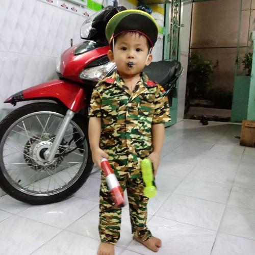Đồ lính cho bé đầy đủ phụ kiện - 7719535 , 17858600 , 15_17858600 , 160000 , Do-linh-cho-be-day-du-phu-kien-15_17858600 , sendo.vn , Đồ lính cho bé đầy đủ phụ kiện