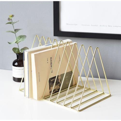[SALE] Khung đựng sách trang trí bàn làm việc,văn phòng - Hồng