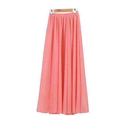 N174 - Chân váy dài maxi
