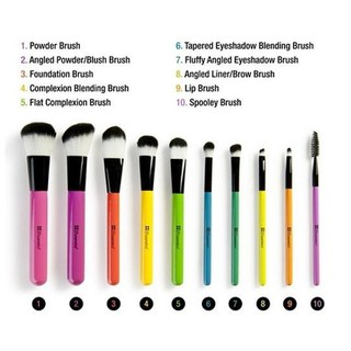 Bộ Cọ Trang Điểm BH Cosmetics 10 Pcs Pop Art Brush Set - BH20 thumbnail