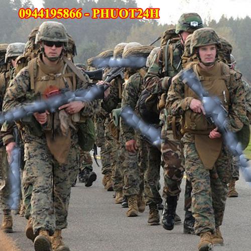 Quần áo lính thủy quân lục chiến mỹ - bộ quần áo lính chiến thuật ngụy trang