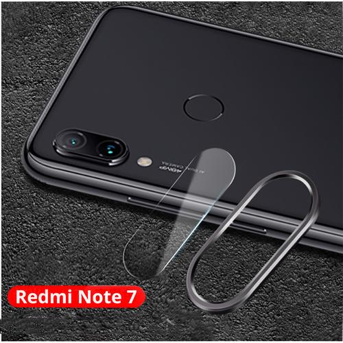 Combo Ốp Viền Kim Loại và Cường Lực Camera cho Xiaomi Redmi Note 7, Note 7 Pro