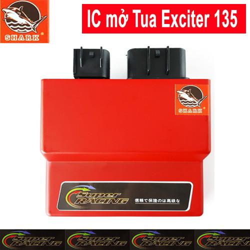 IC độ mở tua Exciter 135 - Shark Malaysia