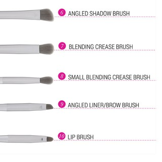 Bộ Cọ Trang Điểm Bh Cosmetics Smoke n Mirrors - 10 Piece Metalized Brush Set - BH11 thumbnail