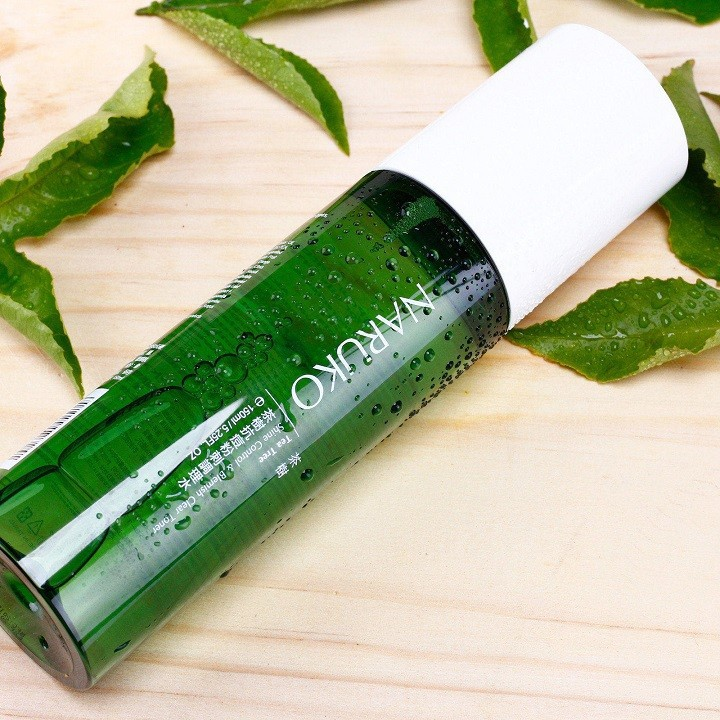 Nước Hoa Hồng Naruko Tea Tree Shine Control and Blemish Clear Toner 150ml