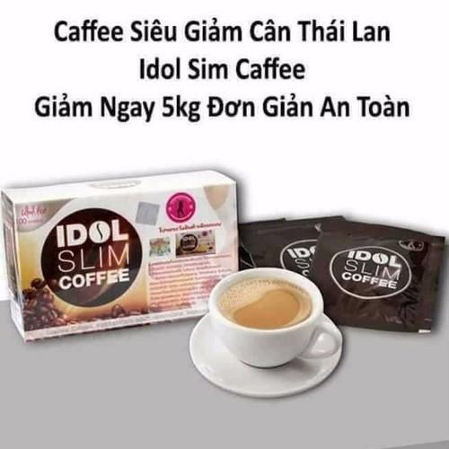 Giảm Cân Cà Phê IDOL SLIM COFFEE  - CAM KẾT CHÍNH HÃNG