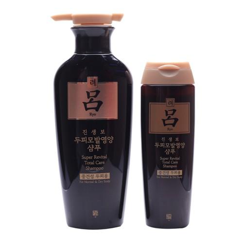 [ CHÍNH HÃNG ] Bộ dầu gội nhân sâm RYO Hàn Quốc phục hồi tóc